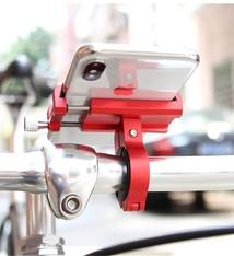 GUB Aluminium telefoonhouder voor fiets