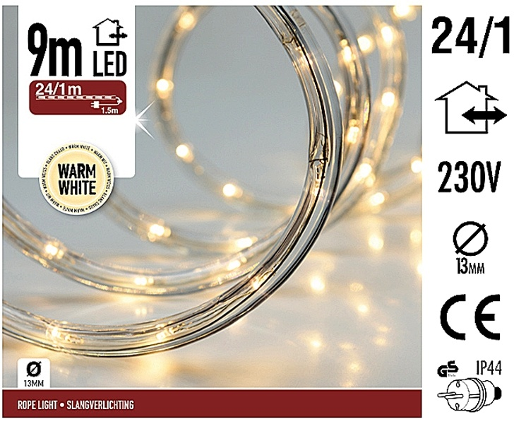 DecorativeLighting LED lichtslang 9 meter warm wit