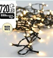 DecorativeLighting Kerstverlichting 720 LED's 54 meter warm wit
