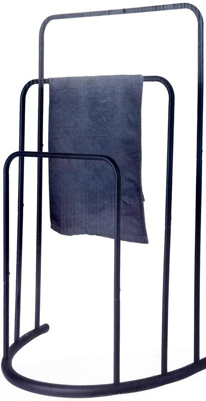 Bathroom Solutions Handdoekenrek metaal - zwart