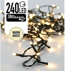 DecorativeLighting LED-verlichting 240 LED's 18 meter warm wit