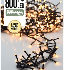 DecorativeLighting Micro Cluster 800 LED's 16 meter extra warm wit