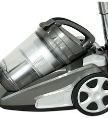 HomeLine Cycloonstofzuiger - 850 Watt antraciet / zilver