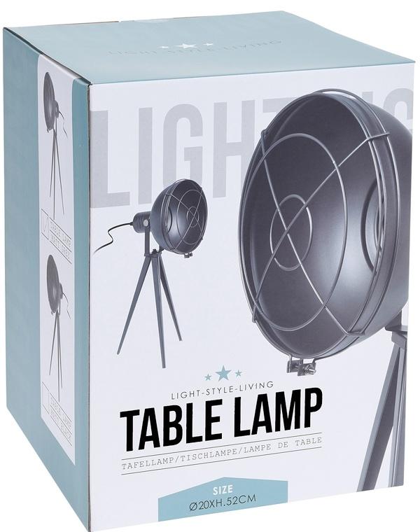 Tafellamp Spotlight - grijs
