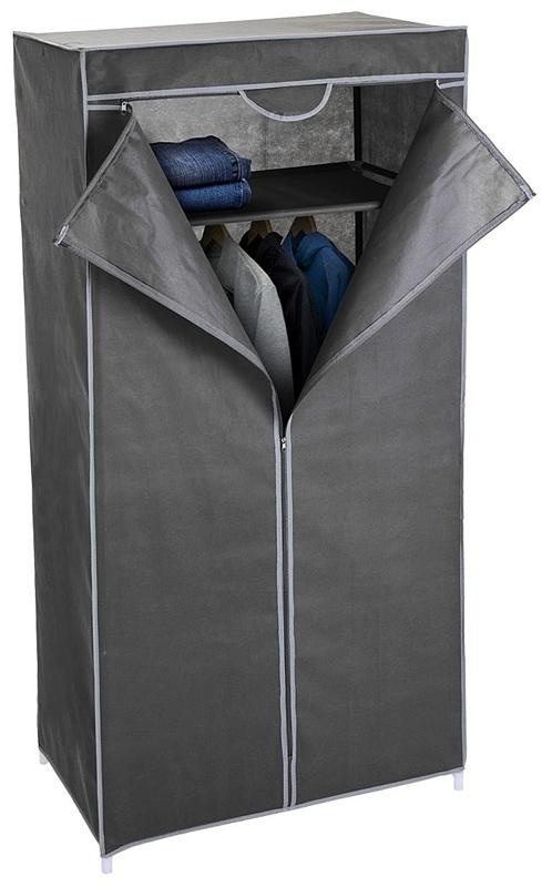 Storage Solutions Garderobekast - hang en leg - 75x45x160cm