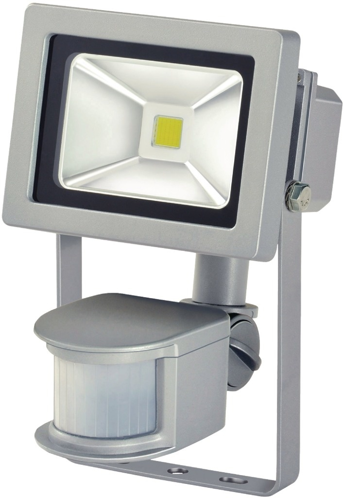 Brennenstuhl Brennenstuhl BN-1171250122 LED Floodlight Met Sensor 10W 700Lm Grijs