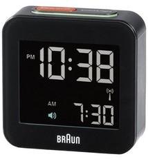 Braun Braun BNC008 Radio-Gestuurde Reiswekker Zwart