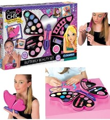 Clementoni Clementoni Crazy Chic Butterfly Beautyset Make-Up Koffer