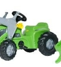 Rolly Toys Rolly Toys 630035 RollyKiddy Futura Tractor met Lader en Aanhanger