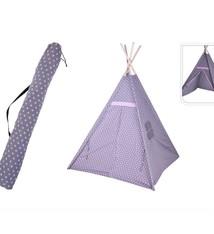 Basic Kids Collection Speeltent Tippie 103x103x160 cm Beige/Wit