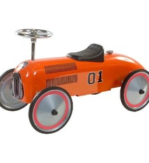 Retro Roller Retro Roller Formule 1 Loopauto Charley Oranje