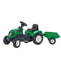 Falk Falk Ranch Tractor + Aanhanger Groen 2+