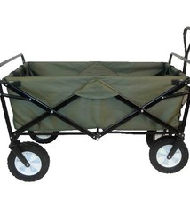 Basic Mac Sports Opvouwbare Bolderwagen 90x51x57cm Groen