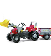 Rolly Toys Rolly Toys 811397 RollyJunior RT Tractor met Lader en Farmtrailer