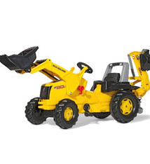 Rolly Toys Rolly Toys 813117 RollyJunior NH Construction Tractor met Lader en Graafarm