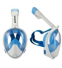 SportX SportX Duikset Full Face Blue S/M