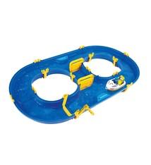 BIG BIG Waterplay Waterbaan Rotterdam met Bootje & Figuur 90x50x9 cm