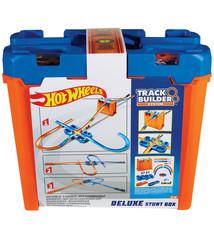 Mattel Hot Wheels Track Builder Luxe Stunt Box + 2 Auto's