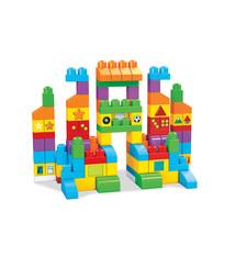 Mega Bloks Mega Bloks First Builders Laten We Leren Tas 150 Stuks