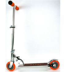 Alert Alert Aluminium Scooter Step Zilver/Oranje