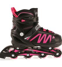 Alert Alert Inline Skates Zwart/Roze Maat 39-42