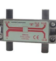 Hirschmann Hirschmann 695004596 Catv Splitter 5.6 Db / 5-1000 Mhz - 3 Uitgangen