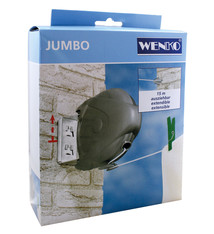 Wenko Wenko Jumbo Uittrekbare Waslijn 15M