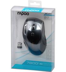 Rapoo Rapoo Muis Laser 5ghz Zwart 7800