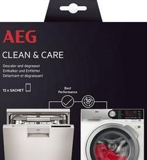 AEG AEG A6WMDW12 Clean And Care Vaat-Wasautomaat Ontkalker en Ontvetter