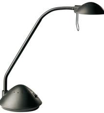 Alco Alco AL-954-11 Bureaulamp Halogeen G4 230/12V, 20W, Zwart