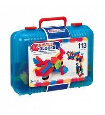 Bristle Blocks Bristle Blocks Koffer met Familie- en Dierfiguren met 113 Stuks