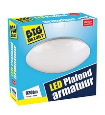 Big Bright Big Bright LED Plafond/Wandlamp 12W 3000K 28cm