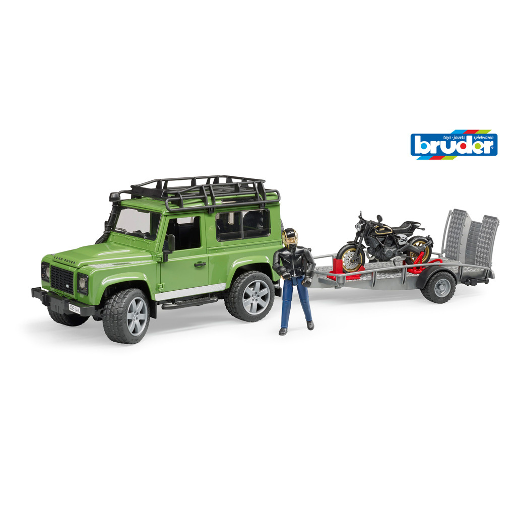 Bruder Bruder 2598 Landrover Jeep met Motor
