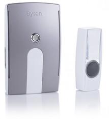 Byron Byron BY504E Draadloze Deurbel Set Grijs