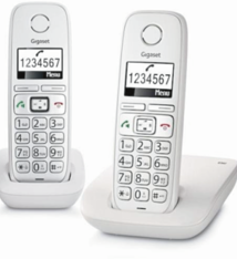 Gigaset Gigaset E260DUO Telefoon
