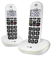 Doro Doro Phone Easy 110 Duo Big Button Care Dect Telefoon Wit