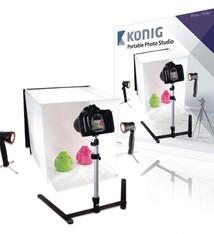 König König KN-STUDIO10N Mini Fotostudio Opvouwbaar 40 X 40 X 40 Cm