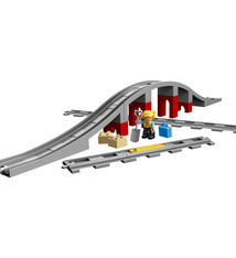 Lego Duplo Lego Duplo 10872 Treinbrug en Rails 26-delig