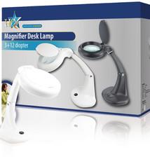 HQ Hq Mag-lamp3w Tafelmodel Loeplamp 3 W Wit