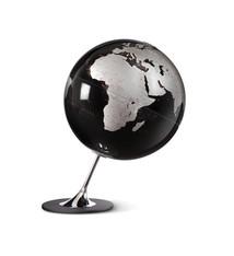 Atmosphere Atmosphere NR-0324AGYN-GB Globe Anglo Black 25cm Diameter Metaal / Chrome