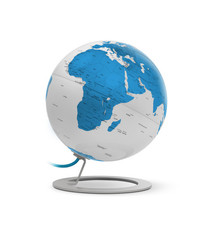 Atmosphere Atmosphere NR-0324IGWT-GB Globe IGlobe Light Turquoise 25 Cm Diameter Metaal/chrome