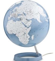 Atmosphere Atmosphere NR-0331F7NA-GB Globe Bright Azure 30cm Diameter Kunststof Voet Met Verlichting