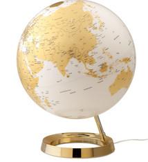 Atmosphere Atmosphere NR-0331F7NQ-GB Globe Bright Gold 30cm Kunststof Voet Verlichting