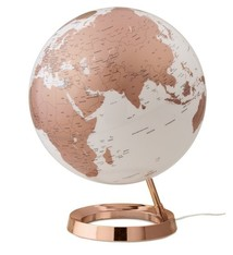 Atmosphere Atmosphere NR-0331F7NU-GB Globe Bright Copper 30cm Diameter Kunststof Voet Engelstalig
