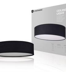 Ranex Ranex RA-1000469 Mia LED Plafond Lamp Zwart 40cm