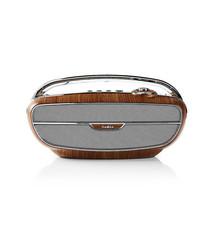 Nedis Nedis RDFM5300BN Fm-radio 60 W Bluetooth® Bruin / Zilver