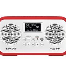 Sangean Sangean DPR-77 Portable DAB+ Radio Wit/Rood