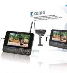 König König SAS-TRANS62 2.4 Ghz Digitale Draadloze Observatieset