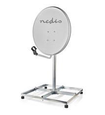Nedis Nedis SDBS110ME Balkonstandaard Voor Satelliet Max. Omvang Schotel: 90 Cm 4 X 30 X 30 Cm Staal