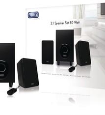 Sweex Sweex Sp024 2.1 Speakerset 80 Watt